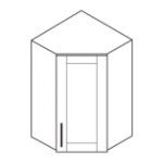 wall cabinet diagonal corner