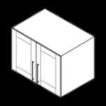 wall cabinet refrigerator top