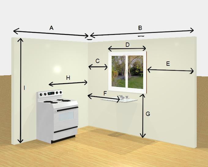 E3kitchen how to measure kitchen
