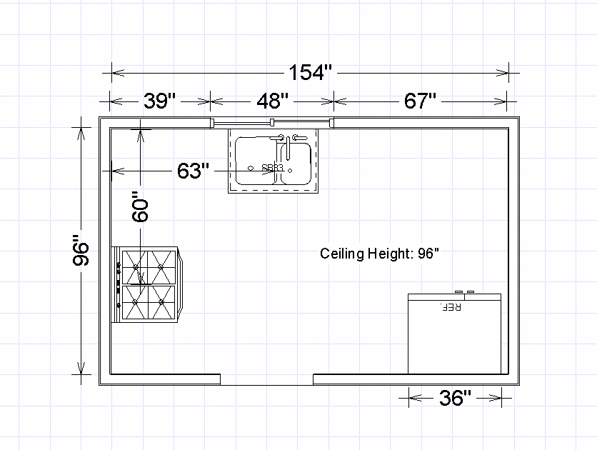 E3kitchen how to measure kitchen